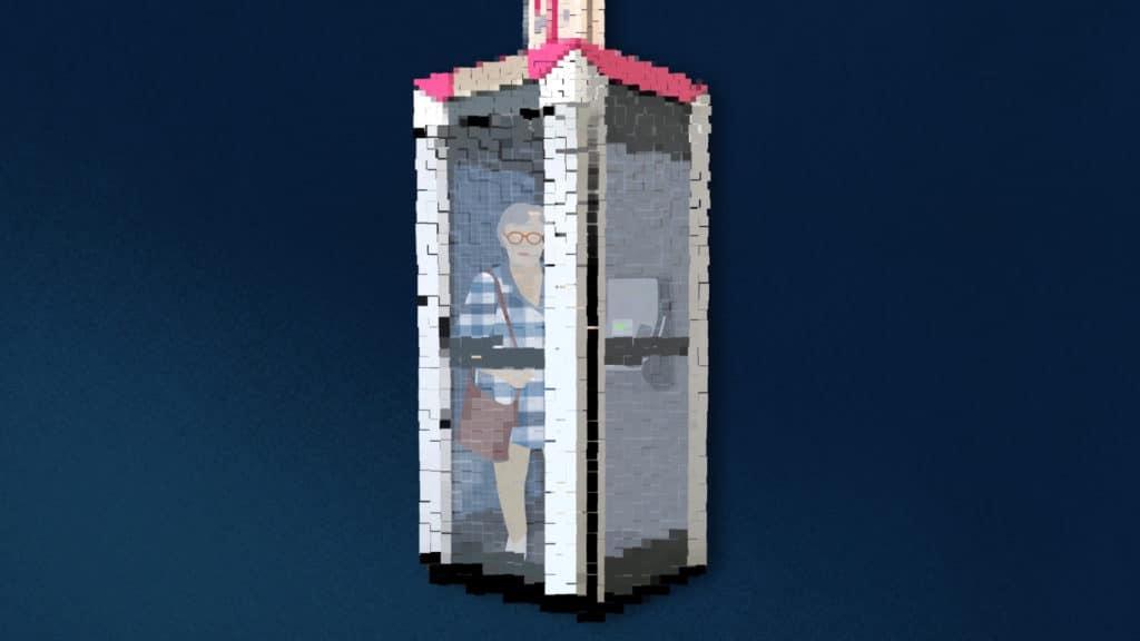 Cut Out PixelPEC Animation 2D Erklärfilm Erklärvideo Museum für Kommunikation Frankfurt