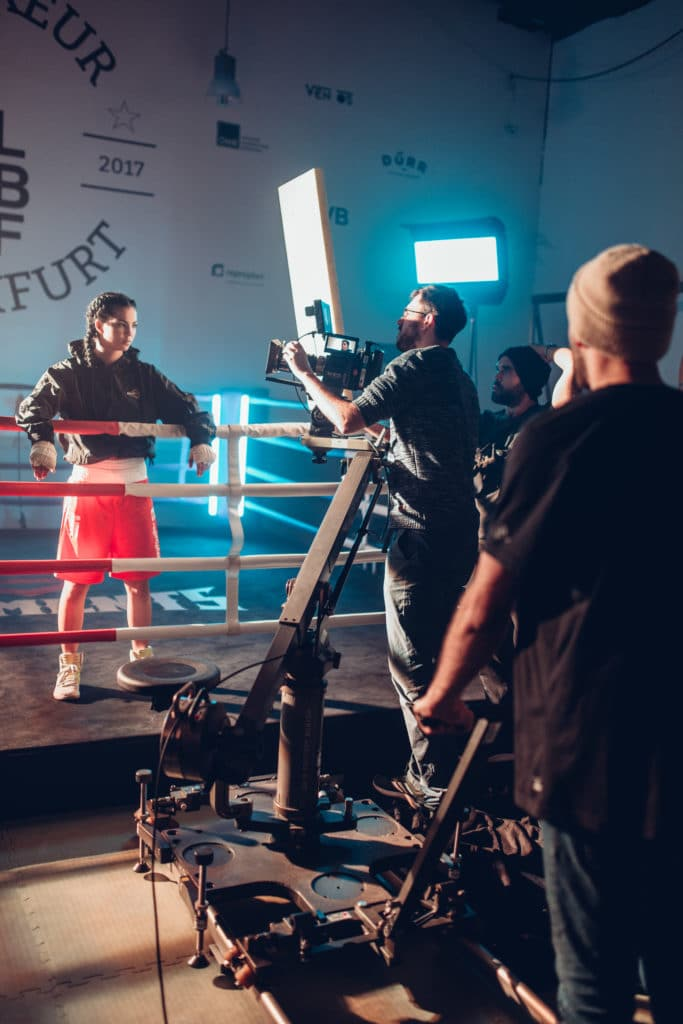 Imagefilm Frankfurt Commercial Realfilm le boxeur frankfurt PixelPEC