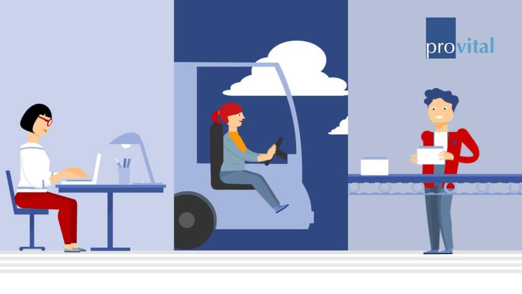 Flat Classic provital 2D PixelPEC Animation 2D Erklärfilm Erklärvideo Animation